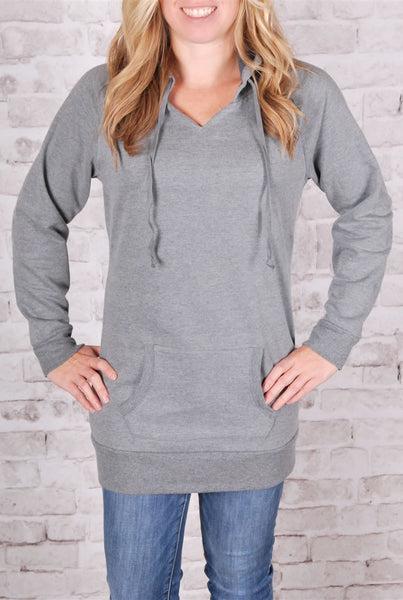 Extra Long Fleece Lined Hoodies - 7 Colors