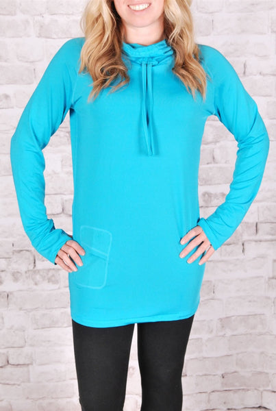 Workout Hoodie with Thumb Holes - S-XL