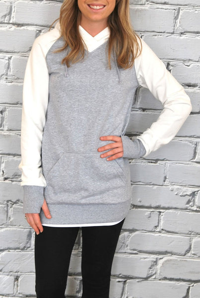 Two Tone Sweatshirt - 2 Colors
