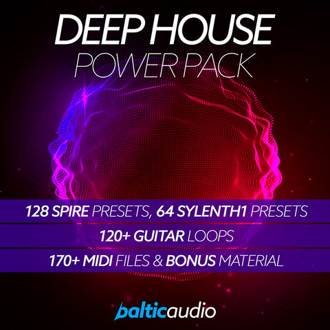 baltic audio - Deep House Power Pack