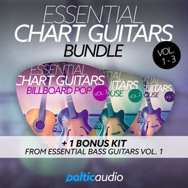Essential Chart Guitars Bundle (Vols 1-3)