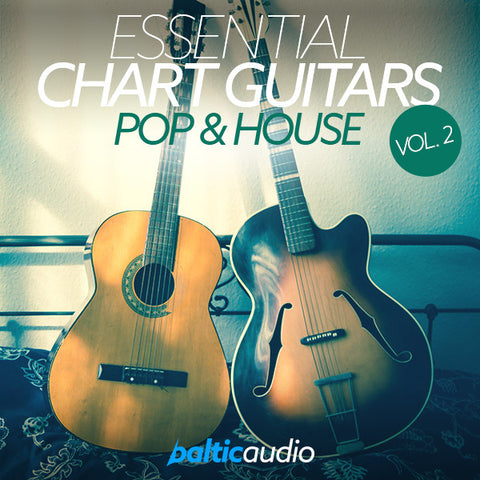 baltic audio Essential Chart Guitars Vol 2: Pop & House