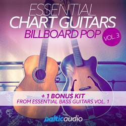 baltic audio Essential Chart Guitars Vol 3: Billboard Pop