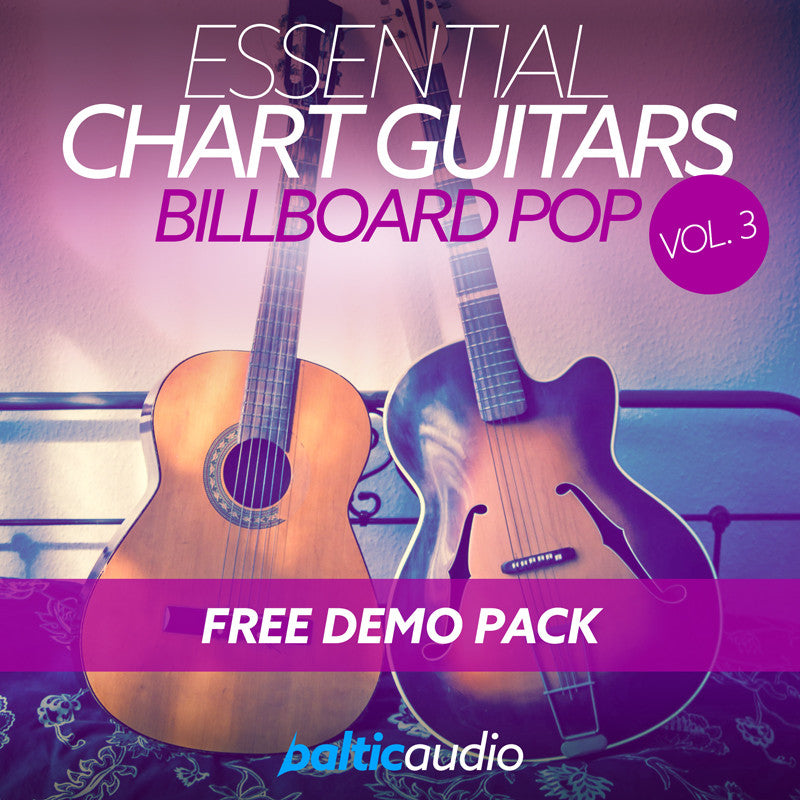 baltic audio Essential Chart Guitars Vol 3: Free Demo Pack