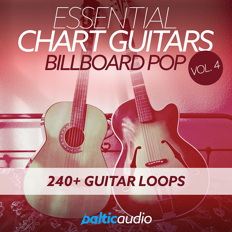 baltic audio Essential Chart Guitars Vol 4: Billboard Pop