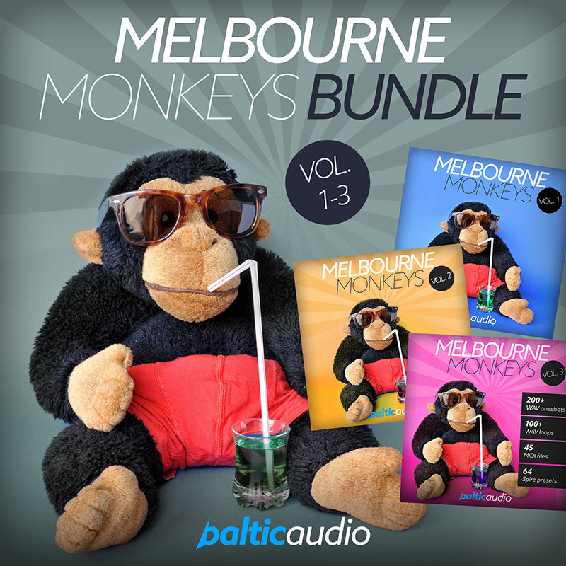 baltic audio - Melbourne Monkeys Bundle (Vols 1-3)