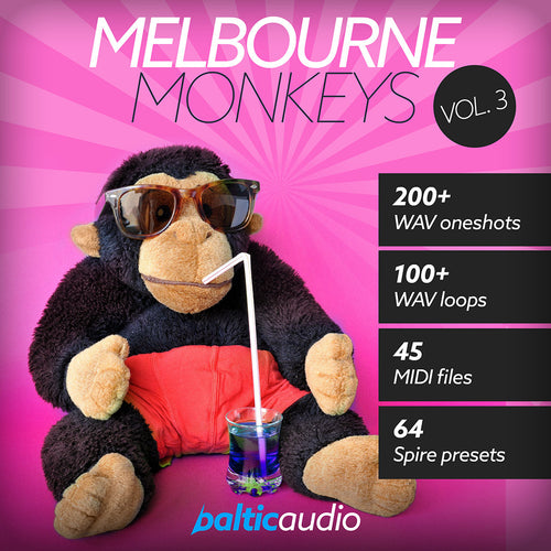 baltic audio Melbourne Monkeys Vol 3