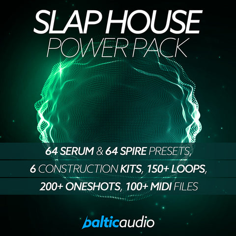 baltic audio - Slap House Power Pack
