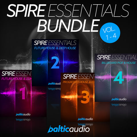 baltic audio Spire Essentials Bundle (Vols 1-4)