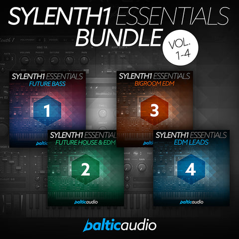 baltic audio - Sylenth1 Essentials Bundle (Vols 1-4)
