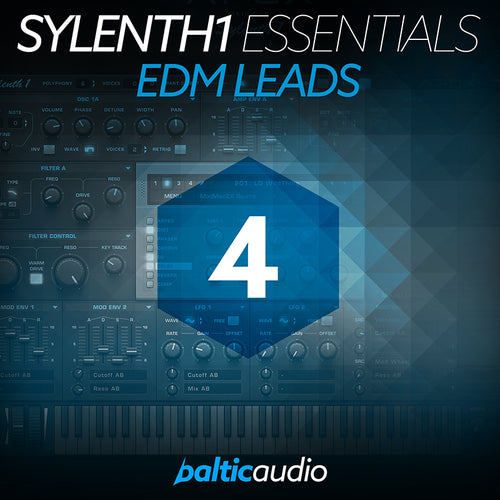 baltic audio - Sylenth1 Essentials Vol 4 - EDM Leads