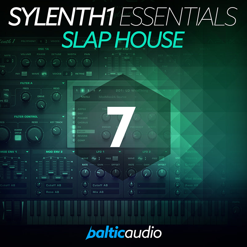 baltic audio - Sylenth1 Essentials Vol 7 - Slap House