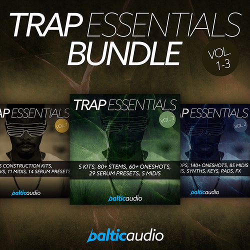 baltic audio - Trap Essentials Bundle (Vols 1-3)