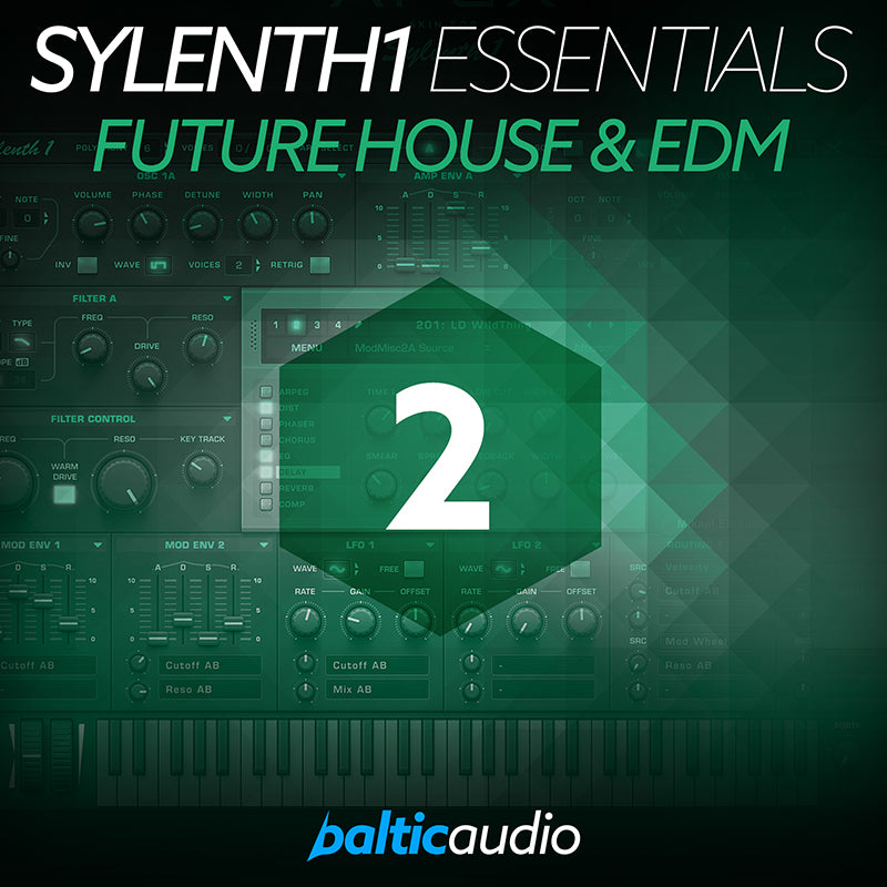 baltic audio Sylenth1 Essentials Vol 2: Future House & EDM