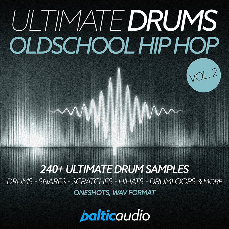 baltic audio Ultimate Drums Vol 2 Oldschool Hip Hop