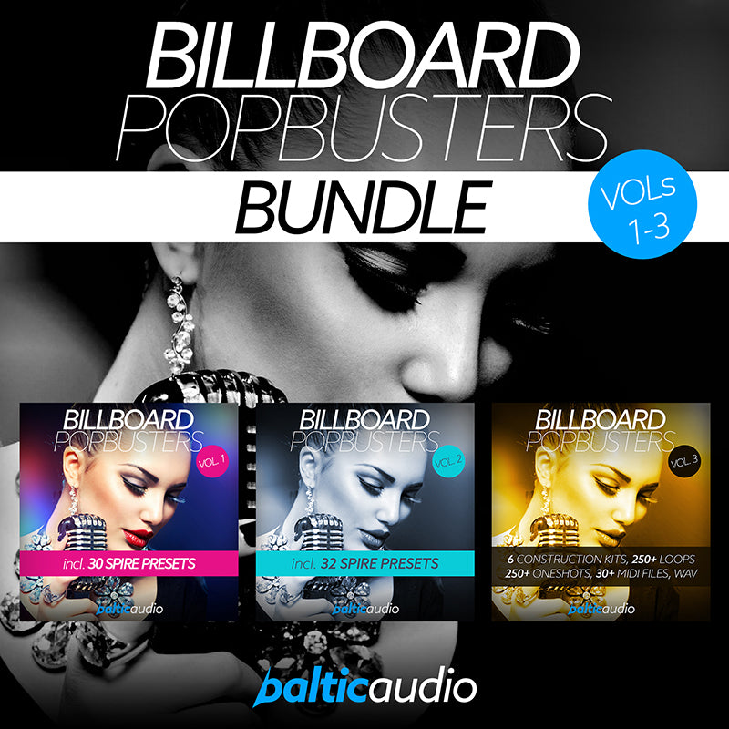 baltic audio - Billboard Pop Busters Bundle (Vols 1-3)