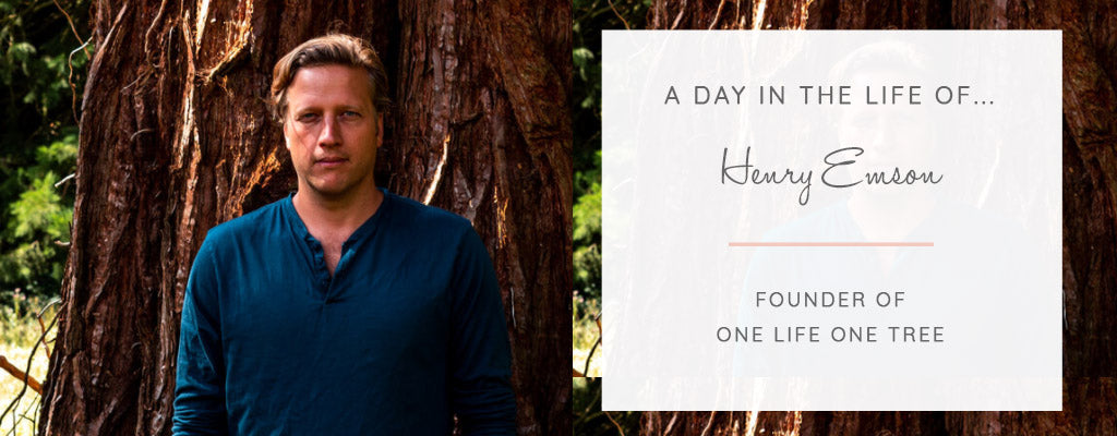 A Day in the Life of... Henry Emson, Founder of One Life One Tree