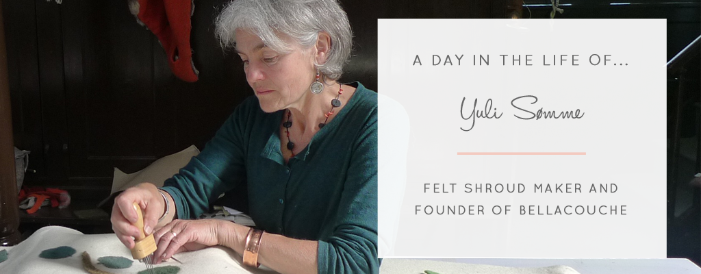A Day In The Life of... Shroud Maker Yuli Sømme from Bellacouche