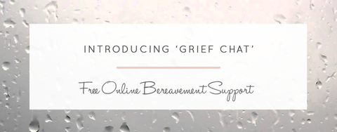 Introducing GriefChat... Free Online Bereavement Support For Our Customers