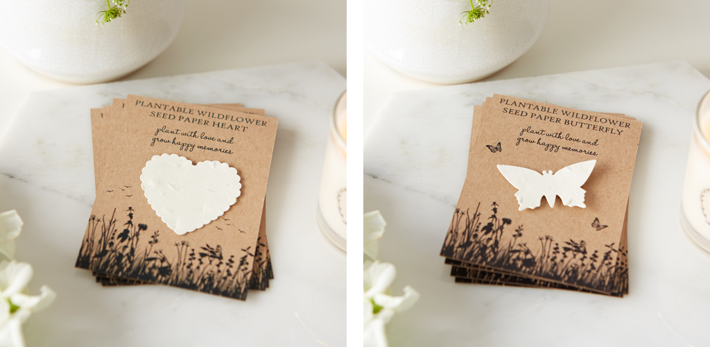 Seed Paper Funeral Favours