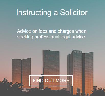 Instructing a Solicitor