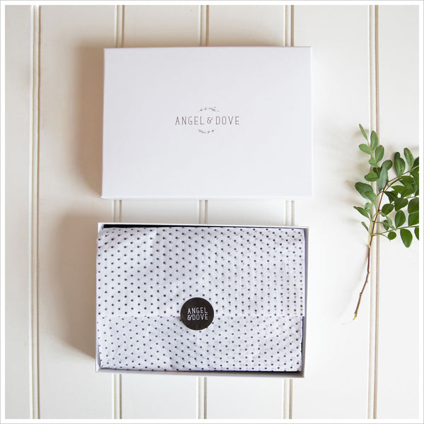 'Little Box of Memories' (Angel) Sympathy Gift with Luxury Gift Box & Card - Angel & Dove