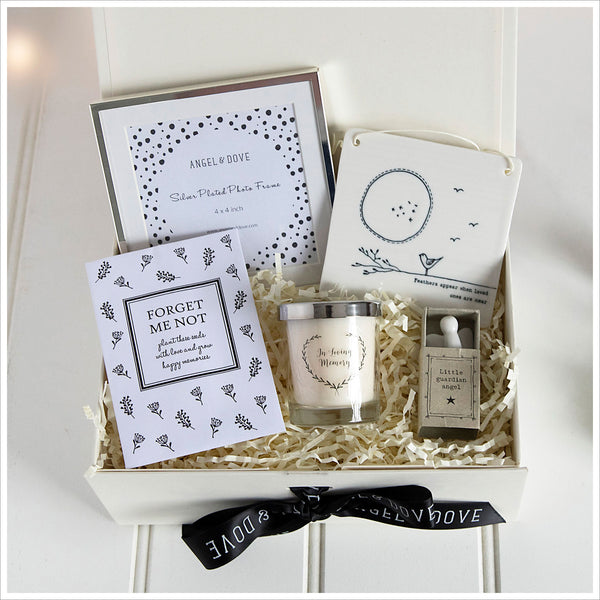 'Sending Comfort' Sympathy Gift Hamper in Luxury Gift Box - Angel & Dove