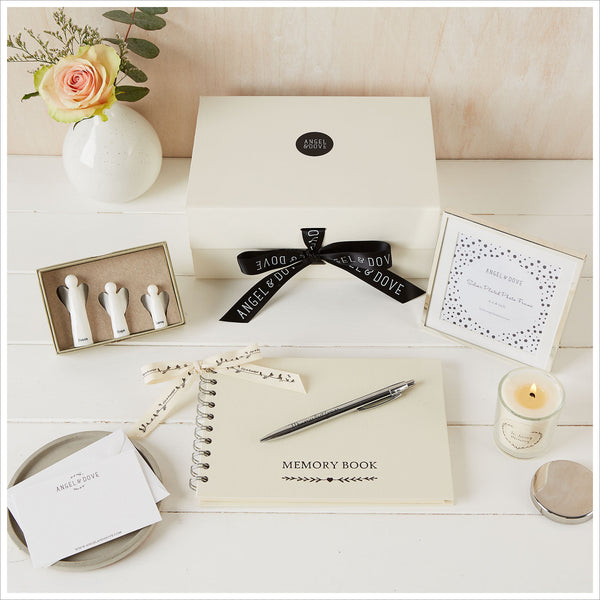 'Sending Peace' Sympathy Gift Hamper in Luxury Gift Box - Angel & Dove