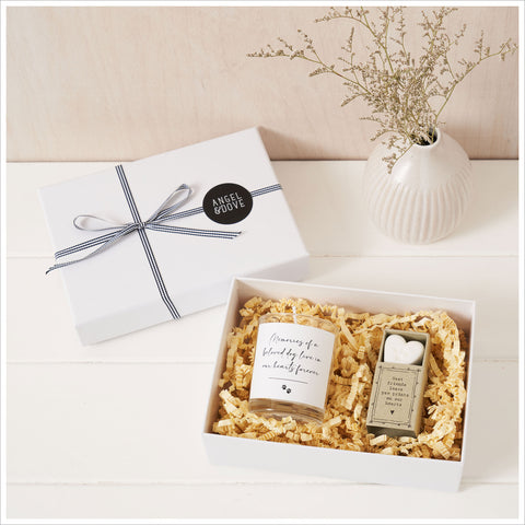Memories of a Beloved Dog Sympathy Gift with Luxury Gift Bag & Card - Angel & Dove