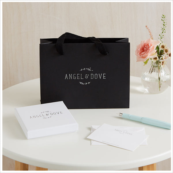 Silver Heart 'Memories' Bracelet in Gift Box with Luxury Gift Bag & Card - Angel & Dove