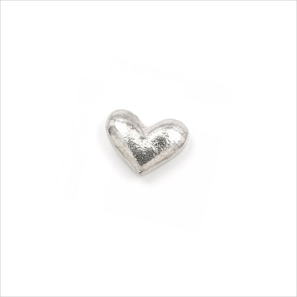 Pewter Heart 'Memories' Pocket Charm Sympathy Gift with Bag & Card - Angel & Dove