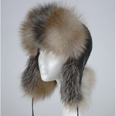 b758265a44114 Women s Crystal Fox Aviator Hat
