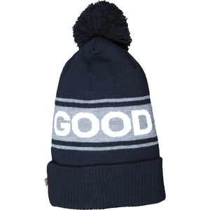 Boy's Hot Paws Good Vibes Droop Beanie