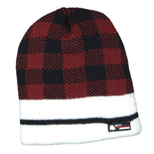 Load image into Gallery viewer, Misty Mountain 4-Layer Check Beanie