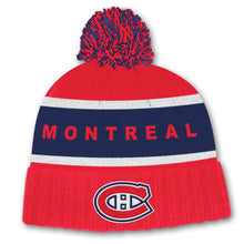 Load image into Gallery viewer, Adidas NHL Culture Cuffed Pom Beanie