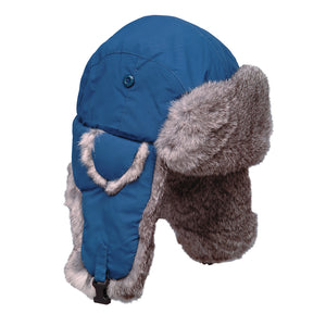 Taslan Rabbit Fur Aviator hat