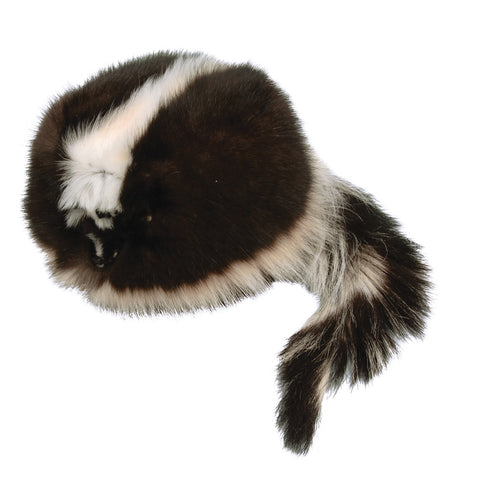 Davy Crockett Face and Tail Hat