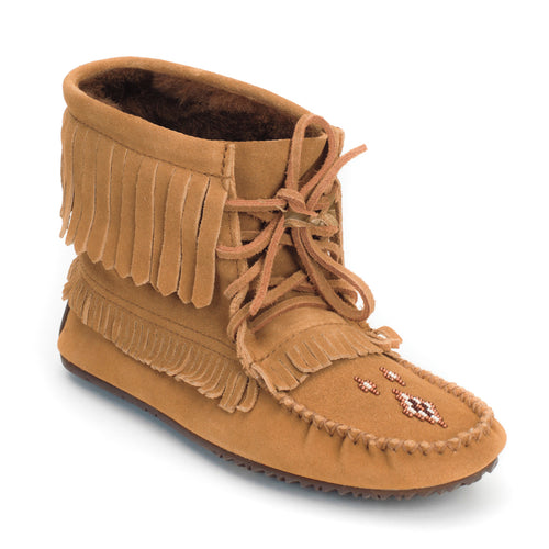 Women's Manitobah Lined Harvester Moccasin