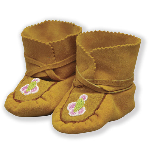 Genuine Infant Handmade Wrap Moccasins