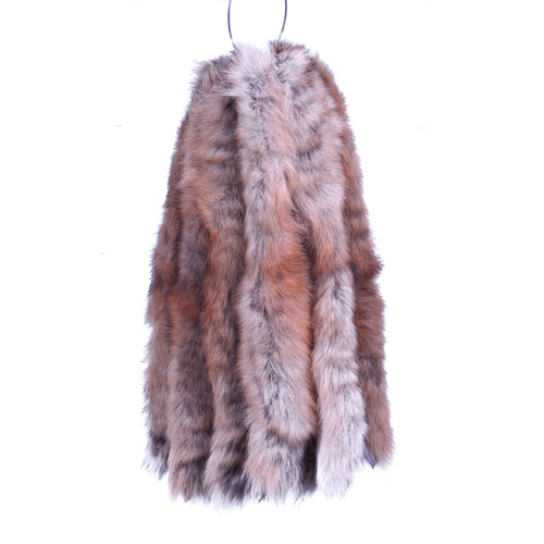 Parka Fur Strip - Wolf Tail (Coyote)