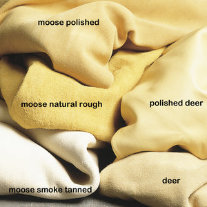 Native Smoked Moose Hide