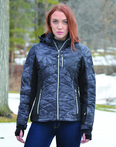 Women's Killtec Maca Print Jacket
