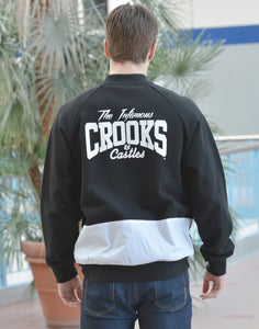 Men's Crooks & Castle Baseball Jacket