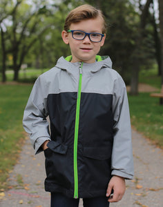 Boy's Columbia Rain Zilla Jacket