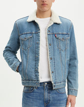 Load image into Gallery viewer, Men's Levis Sherpa Jean Jacket