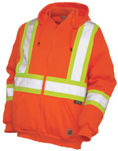 Load image into Gallery viewer, Men's Work King Hi-Visibility Zip Front Hoody