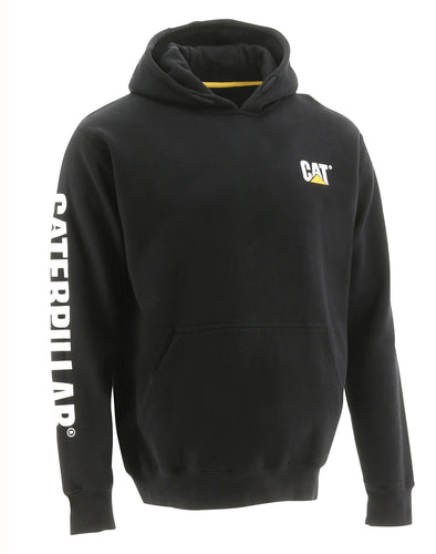 Men's Cat Trademark Banner Pullover