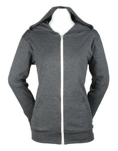 Unisex Bella Lightweight Full Zip Hoody