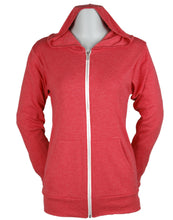 Load image into Gallery viewer, Unisex Bella Lightweight Full Zip Hoody