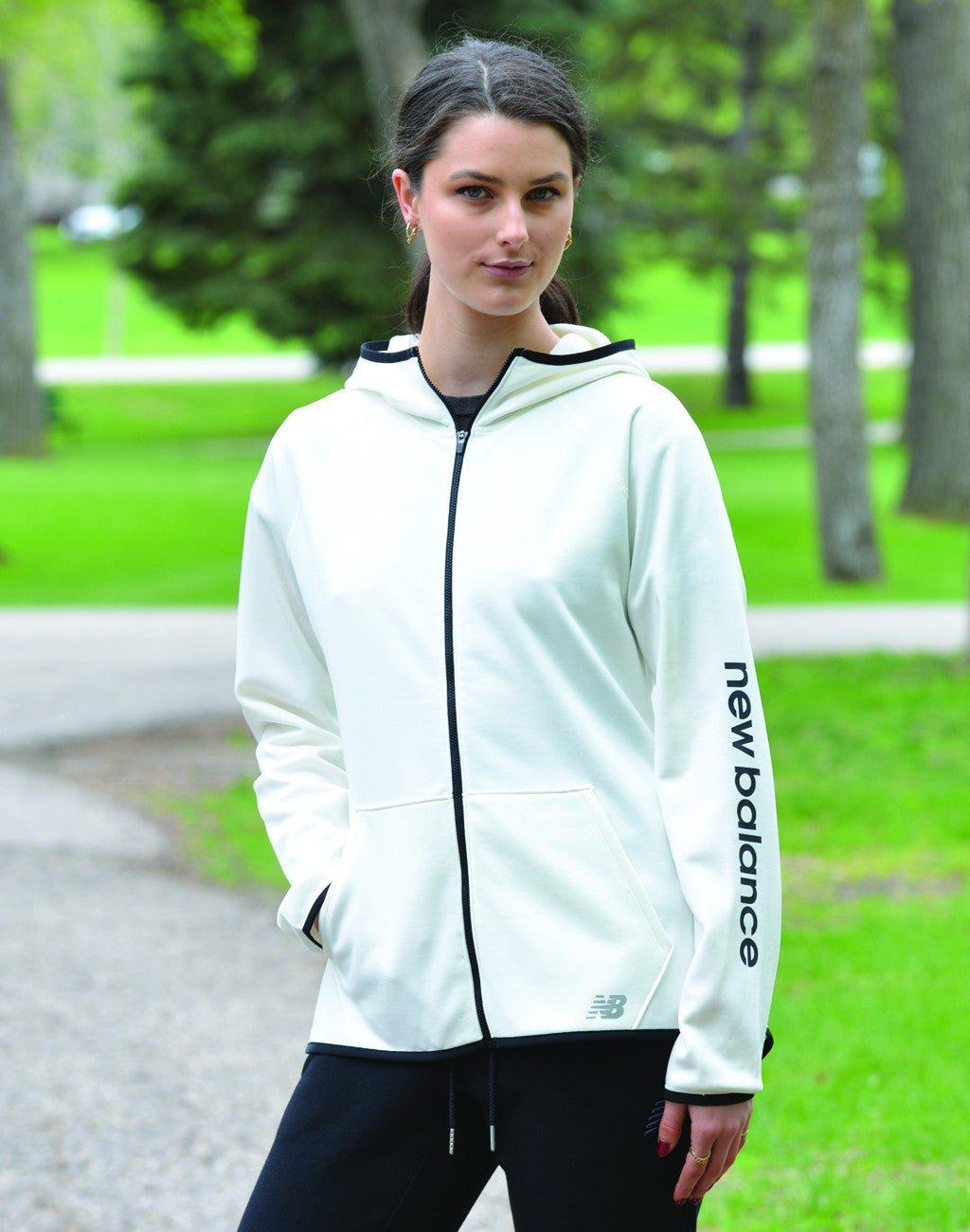 Women's New Balance Accelerate Zip Hoody
